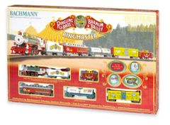 Ringling Brothers and Barnum & Bailey Circus Ringmaster HO Train Set (BACU0714)