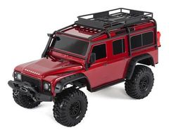Traxxas TRX-4 1/10 Scale Trail Rock Crawler Land Rover Defender Red (TRA82056-4)