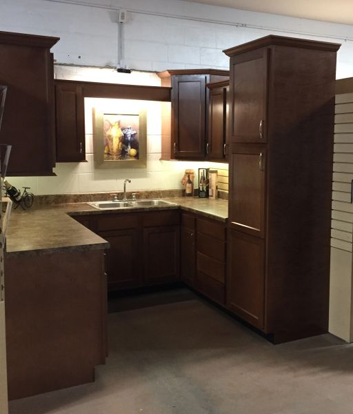 A Glenwood full kitchen, (Heavily Stocked cabinets!) In stock! Free Design & Quote.This kitchen $1997.36