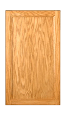 one Door, KK Chadwood (Oak) door hinged, choose from sizes listed, reface with our doors
