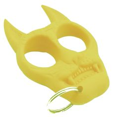 Tiger Self-Defense Keychain (Yellow)