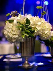 Silver-Abbot Vase