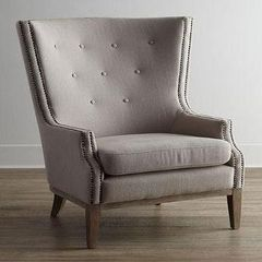 Upholstered Rebecca Wing Chair