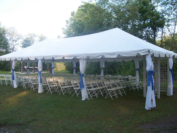 20 X 40 Frame Tent Occasions Event Designs