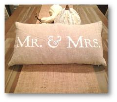 Mr and Mrs Pillow