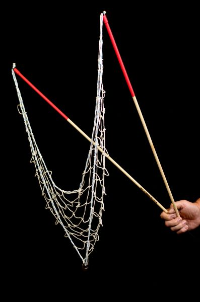 105-Section (red) Net Wind/Twirl Wand
