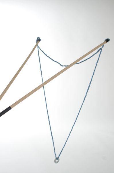 (2) String Wands (blue) 3-foot & (green) 2-foot