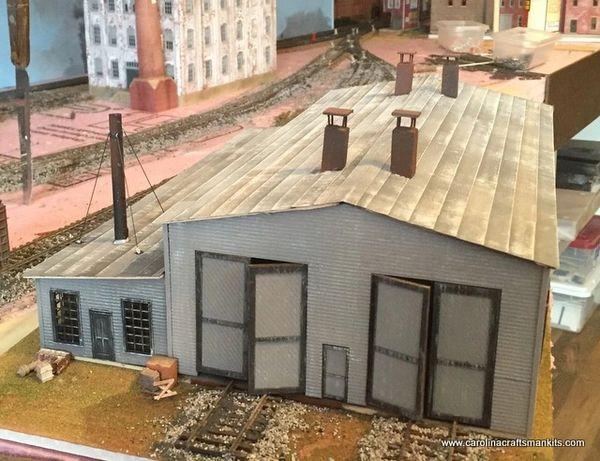 Western Maryland Thomas W Va 2 Stall Engine House
