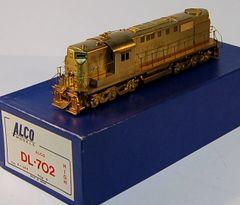 HO Brass ALCO/KMT DL702 HH - UNPAINTED
