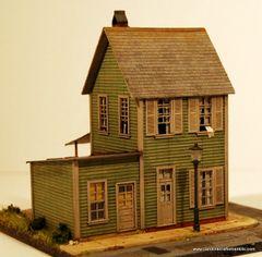 Concord Street #824 - HO Craftsman Kit