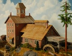 Antietam Millwork - HO Scale Craftsman Kit - LIMITED EDITION