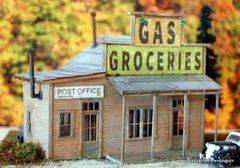 Chinquapin Post Office & Store - HO Scale