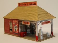 Britner's Garage - O Scale Craftsman KIT