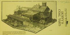 """HO Scale FSM """"Duffy's Coal Yard"""" - Estate"""