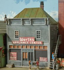 Water Street Appliance - HO Scale Craftsman KIT - BACK IN STOCK!!