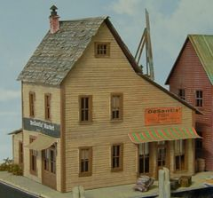 DeSantis' Fish Market - HO Scale Craftsman KIT