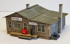 Rural Penwood NC Post Office - HO Scale Craftsman KIT - BACK IN STOCK!!
