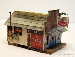H.J. MULL STORE - HO Scale