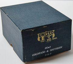 HOn3 Brass United 2-6-0 Colorado & Southern RN13