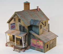 O Scale Frog Pond Store - Limited Edition - Shipping Mid-April