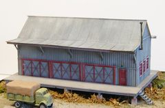 Western Maryland Standard W-14-A Freight House - HO Scale