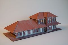 O Scale Elkins Passenger Station - LAST ONE!!!