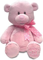 Cuddle Barn ~ My First Singin' Teddy (Pink or Blue)