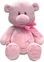 Cuddle Barn ~ My First Singin' Teddy (Pink or Blue)
