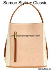 Samoe Style ~ Bisque Snakeskin Crossbody only