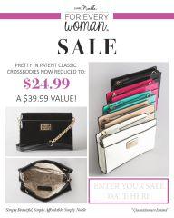 Simply Noelle ~ Pretty in Patent Classic Crossbodies ~ Boutique SPECIAL