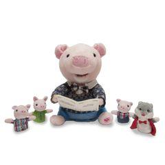 Cuddle Barn ~ Preston The Storytelling Pig
