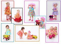 Matchaversibles ~ Infant thru Toddler Sun Dresses
