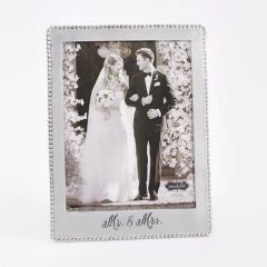 Mud Pie ~ 8 X 10 ~ Mr & Mrs Frame