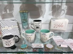 Mary Square ~ Wedding Collection Mugs