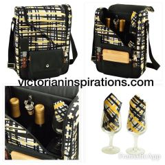 Picnic at Ascot ~ Large Wine & Cheese Cooler