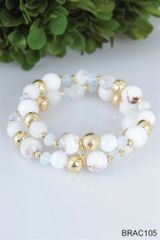 Simply Noelle Beaded Stretch Bracelet