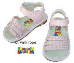 Squeaker Shoes Sandals - Girls