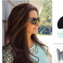 Simply Noelle Sunglasses ~ Jeweled