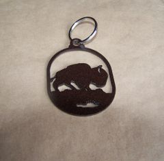 Buffalo Key Ring