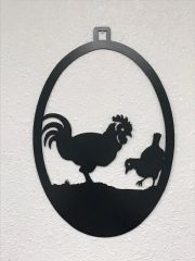 Chicken Welcome Door Hanger