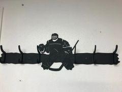 Hockey Player 6 Coat Hook