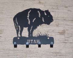 Utah Buffalo 4 Key Hook