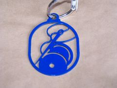 Needle and Thread Key Ring