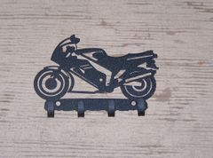 Motorcycle 4 Key Hook