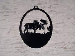 Moose Welcome Door Hanger
