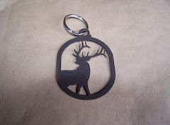Elk Half Body Key Ring