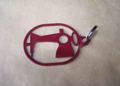 Sewing Machine Key Ring