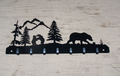 Bear Family 7 Key Hook