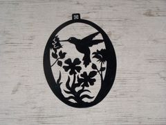 Hummingbird Welcome Door Hanger