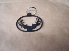 Deer Antlers Key Ring